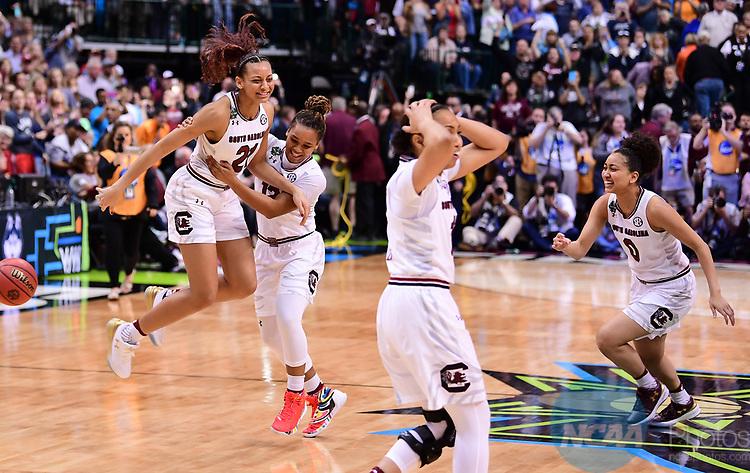 31 MAR 2017: during the 2017 Women's Final Four in Dallas, TX. Ben Solomon/NCAA Photos