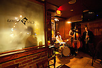 "The Jazz Trio ""The Young Lions""  performs at Cafe Nema, an Ethiopian Sports Bar (upstairs) and Jazz Club (downstairs) in Washington's U Street District"