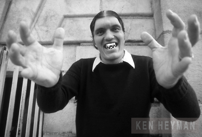 "Richard Kiel as ""Jaws."""