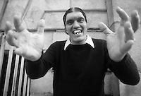 "Richard Kiel as ""Jaws."""