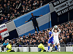 A Mauricio Pochettino flag during the UEFA Champions League match at the Tottenham Hotspur Stadium, London. Picture date: 26th November 2019. Picture credit should read: David Klein/Sportimage