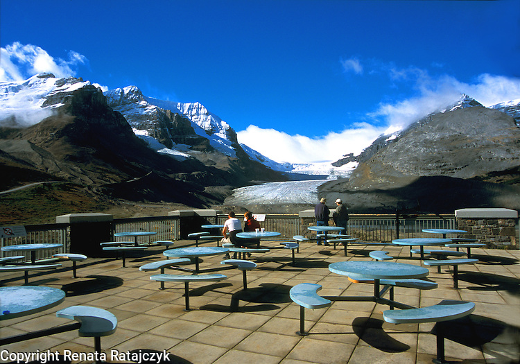 View on Columbia Icefield, Jasper National Park, Alberta, Canada.<br />