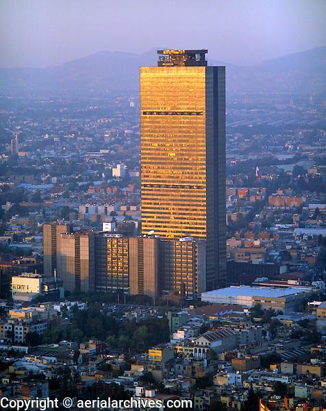aerial PEMEX Mexico City