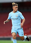 Manchester City's Joel Latibeaudiere in action during the premier league 2 match at the Emirates Stadium, London. Picture date 21st August 2017. Picture credit should read: David Klein/Sportimage