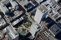 aerial photograph Hartford Building, 650 California Street, San Francisco financial district