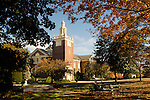 Clarke Chapel, Lycoming County, Lycoming College in fall.