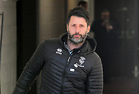Lincoln City manager Danny Cowley during the pre-match warm-up<br /> <br /> Photographer Andrew Vaughan/CameraSport<br /> <br /> The EFL Sky Bet League Two - Lincoln City v Stevenage - Saturday 16th February 2019 - Sincil Bank - Lincoln<br /> <br /> World Copyright © 2019 CameraSport. All rights reserved. 43 Linden Ave. Countesthorpe. Leicester. England. LE8 5PG - Tel: +44 (0) 116 277 4147 - admin@camerasport.com - www.camerasport.com