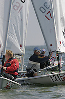 20th SPA Regatta - Medemblik.26-30 May 2004..Copyright free image for editorial use. Please credit Peter Bentley..Stephan Veldman- NED