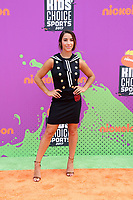 LOS ANGELES - July 13:  Aly Raisman at the Nickelodeon Kids' Choice Sports Awards 2017 at the Pauley Pavilion on July 13, 2017 in Westwood, CA