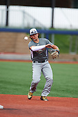 Bo Bichette (19) of Lakewood High School in Tierra Verde, Florida during the Under Armour All-American Game practice on August 14, 2015 at Les Miller Field in Chicago, Illinois. (Mike Janes/Four Seam Images)