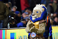 Bath Rugby mascot Maximus. Aviva Premiership match, between Bath Rugby and Wasps on December 29, 2017 at the Recreation Ground in Bath, England. Photo by: Patrick Khachfe / Onside Images