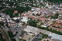 Bergedorf: EUROPA, DEUTSCHLAND, HAMBURG, (EUROPE, GERMANY), 10.06.2007: Bergedorf, ZOB, Bus, Bahnhof, Busbahnhof, Zentrum, Uebersicht, Bergedorfer Strasse, Bahn. Linie, Bahnlinie, Lohbruegge, Sachsentor,  Stadtansicht, CCB, Kirche, Schloss,Baustelle, Neubau, Bau, Baugrundstueck,  Luftbild, Luftansicht, Air, Aufwind-Luftbilder..c o p y r i g h t : A U F W I N D - L U F T B I L D E R . de.G e r t r u d - B a e u m e r - S t i e g 1 0 2, .2 1 0 3 5 H a m b u r g , G e r m a n y.P h o n e + 4 9 (0) 1 7 1 - 6 8 6 6 0 6 9 .E m a i l H w e i 1 @ a o l . c o m.w w w . a u f w i n d - l u f t b i l d e r . d e.K o n t o : P o s t b a n k H a m b u r g .B l z : 2 0 0 1 0 0 2 0 .K o n t o : 5 8 3 6 5 7 2 0 9.C o p y r i g h t n u r f u e r j o u r n a l i s t i s c h Z w e c k e, keine P e r s o e n l i c h ke i t s r e c h t e v o r h a n d e n, V e r o e f f e n t l i c h u n g  n u r  m i t  H o n o r a r  n a c h M F M, N a m e n s n e n n u n g  u n d B e l e g e x e m p l a r !.