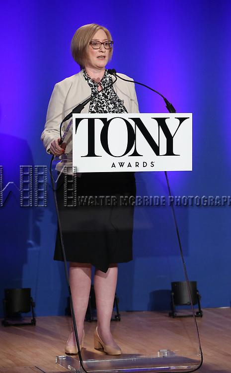 Heather Hitchens during The 73rd Annual Tony Awards Nominations Announcement on April 30, 2019 in New York City.