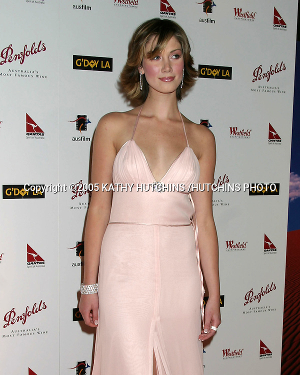 ©2005 KATHY HUTCHINS /HUTCHINS PHOTO.PENFOLDS BLACK TIE GALA DINNER.CENTURY PLAZA HOTEL & SPA.LOS ANGELES, CA.JANUARY 15, 2005..DELTA GOODREM