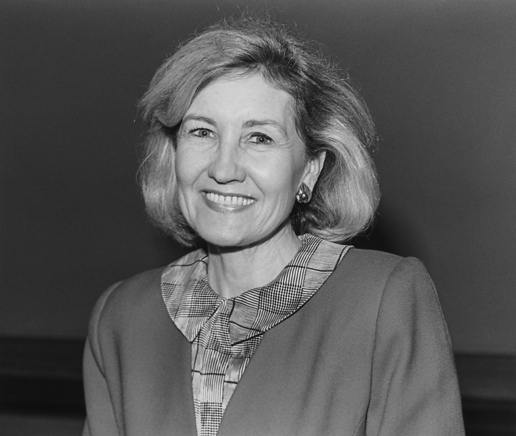 Sen. Kay Bailey Hutchison, R-Tex., on June 20, 1994. (Photo by Chris Martin/CQ Roll Call via Getty Images)