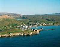 Húsavík séð til suðausturs /.Husavik viewing southeast.Norðurþing / Nordurthing