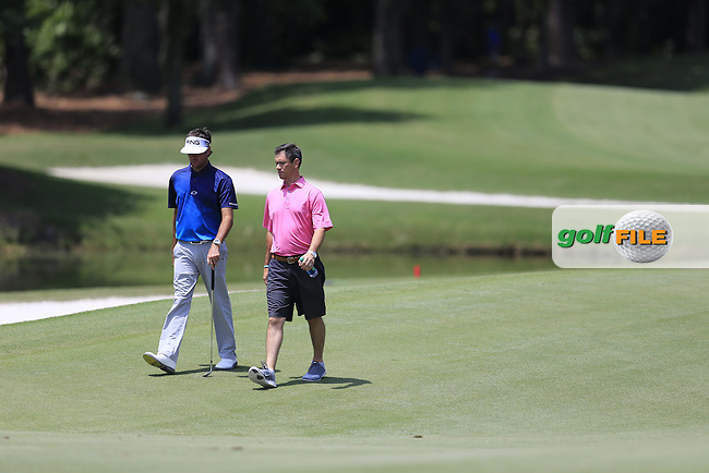 Bubba Watson (USA) on the 2nd during practice for the Players, TPC Sawgrass, Championship Way, Ponte Vedra Beach, FL 32082, USA. 11/05/2016.<br /> Picture: Golffile   Fran Caffrey<br /> <br /> <br /> All photo usage must carry mandatory copyright credit (&copy; Golffile   Fran Caffrey)