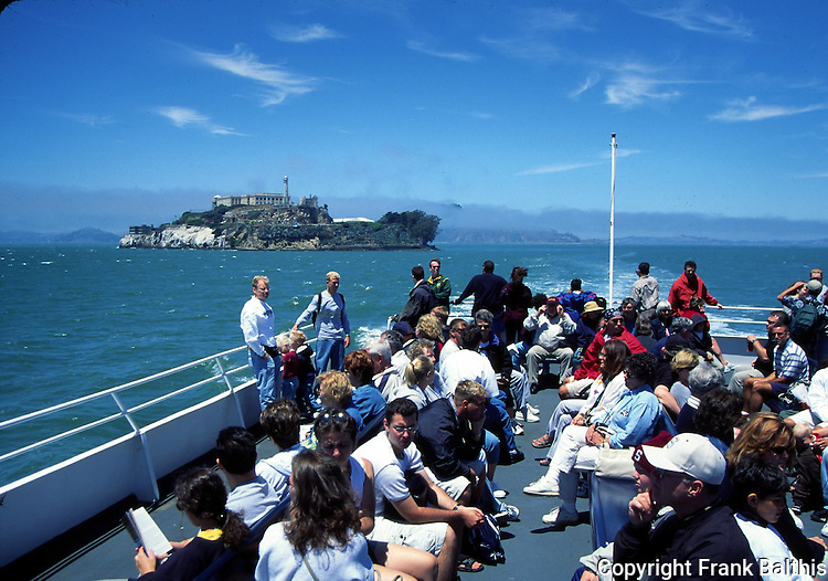 Blue and Gold Fleet boat to Alcatraz Island