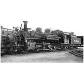 D&amp;RGW #473 K-28 left front view in Alamosa yard.<br /> D&amp;RGW  Alamosa, CO