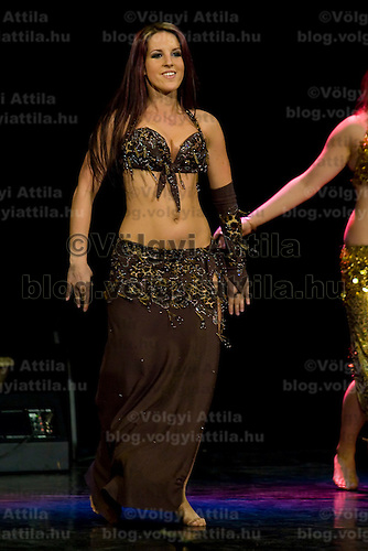 Fiesta Oriental Bellydance Gala organized by Sefirah, held in Urania National Movie Theatre. Budapest, Hungary, Saturday, 24. January 2009. ATTILA VOLGYI