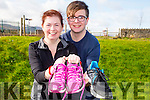 Jesse and Betty Brosnan Tralee mother & son in training on Saturday morning for the Kerrys Eye International Marathon on Saturday morning.