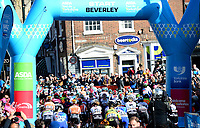 Picture by SWpix.com - 03/05/2018 - Cycling - 2018 Asda Women's Tour de Yorkshire - Stage 1: Beverley to Doncaster - Start of the stage in Beverley