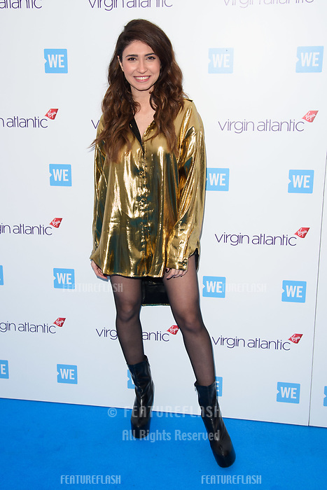 Lina arriving for WE Day 2018 at Wembley Arena, London, UK. <br /> 07 March  2018<br /> Picture: Steve Vas/Featureflash/SilverHub 0208 004 5359 sales@silverhubmedia.com