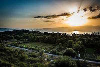 Makedonien. Udsigt over Ohridsøen. Foto: Jens Panduro