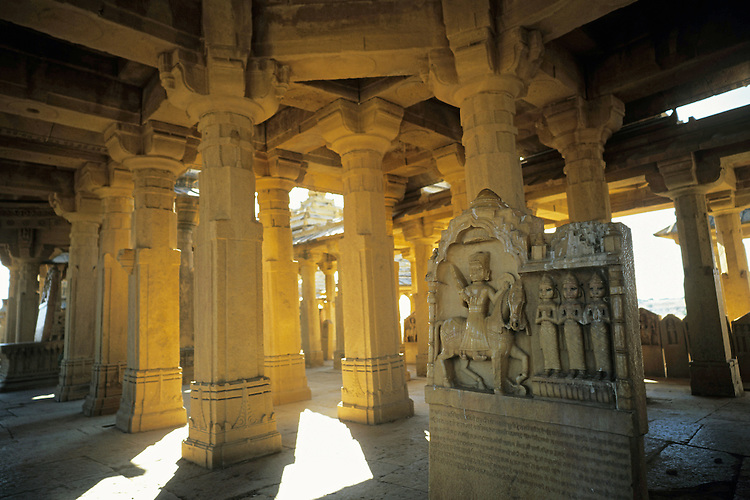 Memorials of ancient kings, Bara Bagh, Rajasthan, India, 2011