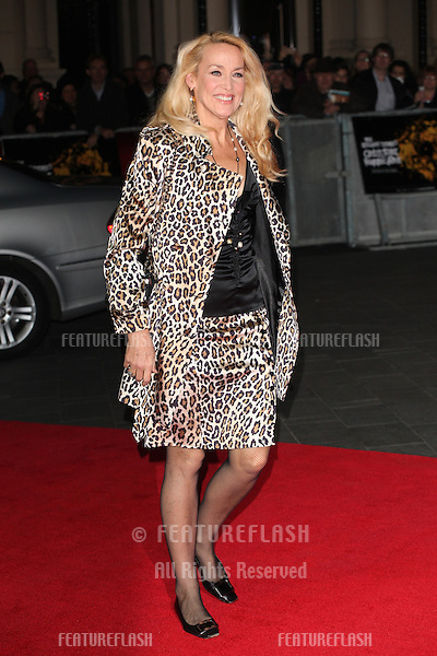 Jerry Hall arriving the Premiere of 'Crossfire Hurricane' during the 56th BFI London Film Festival at Odeon Leicester Square, London. 18/10/2012 Picture by: Alexandra Glen / Featureflash