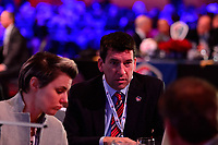 Philadelphia, PA - Thursday January 18, 2018: Chris Hummer during the 2018 NWSL College Draft at the Pennsylvania Convention Center.