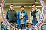 Peter Duggan (Tralee), Javkhlan Kelly (Ballymac) Kieran Duggan (Tralee), pictured at the DojoMór Tech Talk at IT Tralee on Saturday last.