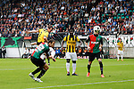 Nederland, Nijmegen, 10 mei 2012.Seizoen 2011/2012.Eredivisie.N.E.C.-Vitesse 3-2.Nicky Hofs van Vitesse scoort de 0-1