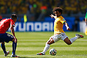 Mauricio Isla (CHI), Marcelo (BRA),<br /> JUNE 28, 2014 - Football / Soccer :<br /> FIFA World Cup Brazil 2014 Round of 16 match between Brazil 1(3-2)1 Chile at Estadio Mineirao in Belo Horizonte, Brazil. (Photo by D.Nakashima/AFLO)