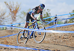 October 17, 2015 - Boulder, Colorado, U.S. - Elite cyclist, Caroline Mani, in action during the U.S. Open of Cyclocross, Valmont Bike Park, Boulder, Colorado.