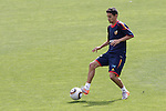 MADRID (25/05/09).- The Spanish Soccer national training session.  Jesus Navas...PHOTO: Cesar Cebolla / ALFAQUI
