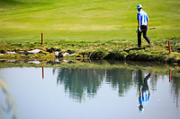 Peter Gustafsson (SWE) in action during the second round of the Kazakhstan Open presented by ERG played at Zhailjau Golf Resort, Almaty, Kazakhstan. 14/09/2018<br /> Picture: Golffile | Phil Inglis<br /> <br /> All photo usage must carry mandatory copyright credit (© Golffile | Phil Inglis)