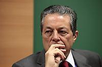 SAO PAULO, 03  DE MAIO DE 2012.  SEMINARIO INTERNACIONAL DE LIBERDADE DE EXPRESSÃO. O Jornalista Carlos Alberto Di Franco durante o seminário internacional de Liberdade de expressão.FOTO: ADRIANA SPACA - BRAZIL PHOTO PRESS