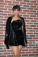 NEW YORK, NY - APRIL 17: Jennifer Hudson at The Late Show with Stephen Colbert in New York City on April 17, 2017. <br /> CAP/MPI/RW<br /> &copy;RW/MPI/Capital Pictures