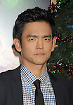 "HOLLYWOOD, CA - NOVEMBER 02: John Cho arrives at the ""A Very Harold & Kumar 3D Christmas"" Los Angeles Premiere at Grauman's Chinese Theatre on November 2, 2011 in Hollywood, California."