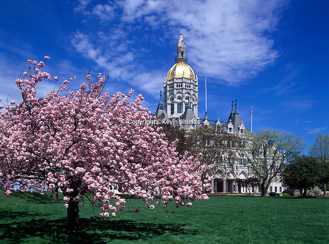 State Capitol at Hartford, Connecticut, USA