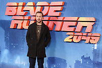 "Ryan Gosling<br /> at the ""Blade Runner 2049"" photocall, Corinthia Hotel, London<br /> <br /> <br /> ©Ash Knotek  D3312  21/09/2017"