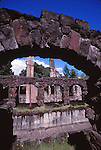 Jack London SHP, Wolf House ruins, SC1.    FB-S164  Back small photo