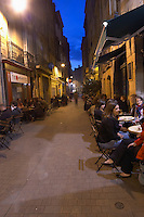 restaurant terrace rue du parlement ste catherine bordeaux france