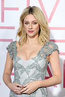 7 March 2019 - Los Angeles, California - Lili Reinhart. The Premiere Of Lionsgate's &quot;Five Feet Apart&quot; held at Fox Bruin Theatre. <br /> CAP/ADM/FS<br /> &copy;FS/ADM/Capital Pictures