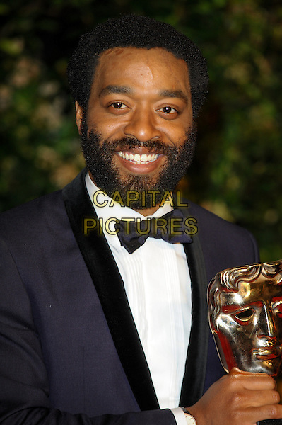LONDON, ENGLAND - FEBRUARY 16: Chiwetel Ejiofor attends EE British Academy Film Awards afterparty at the Grosvenor Hotel on February 16, 2014 in London, England. <br /> CAP/CJ<br /> &copy;Chris Joseph/Capital Pictures