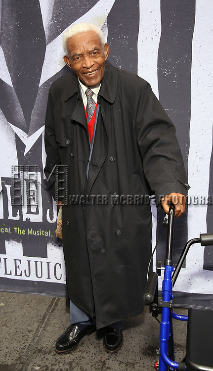 "Irving Louis Burgie attends the Broadway Opening Night Performance for ""Beetlejuice"" at The Wintergarden on April 25, 2019  in New York City."