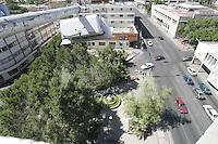 Vista Panormica del bulevar Rosales tomada desde el Antiguo banco de Mexico