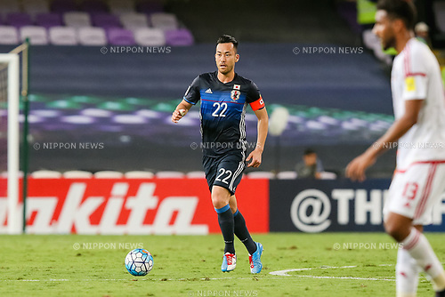 Maya Yoshida (JPN), MARCH 23, 2017 - Football / Soccer : Maya Yoshida of Japan during the FIFA World Cup Russia 2018 Asian Qualifier Group B match between United Arab Emirates and Japan at Hazza Bin Zayed Stadium in Al Ain, United Arab Emirates. (Photo by AFLO)