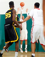 April 9, 2011 - Hampton, VA. USA;  Jarryn Skeete participates in the 2011 Elite Youth Basketball League at the Boo Williams Sports Complex. Photo/Andrew Shurtleff